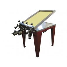 Ручной станок трафаретной печати с вакуумным столом TIC 50B, TIC