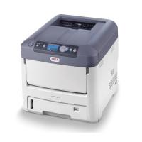Цветной принтер A4 с белым тонером OKI С711WT