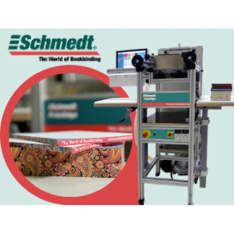 Schmedt выпустила компактный струйный принтер PraziEdge для декорирования книжных обрезов