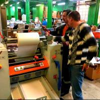 Типография AP TRADE первой в Северо-Западном регионе установила промышленный ламинатор Bagel DigiFav