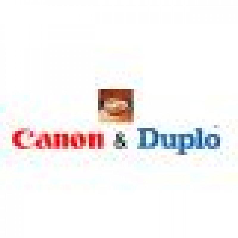 Анонсирование соглашения о начале широкомасштабного сотрудничества между компаниями Duplo и Canon