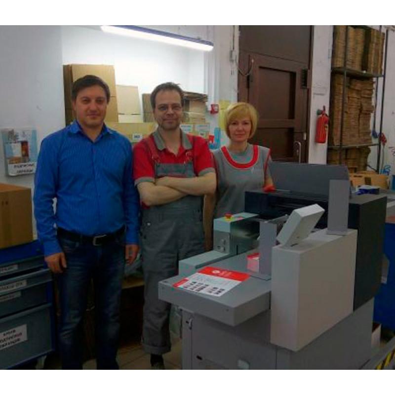 Промышленные биговально-фальцевальные машины Multigraf CF-375 установлены в двух ведущих типографиях Санкт-Петербурга