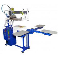 Полуавтоматический трафаретный станок для текстиля Schulze НАT 5070 4/1