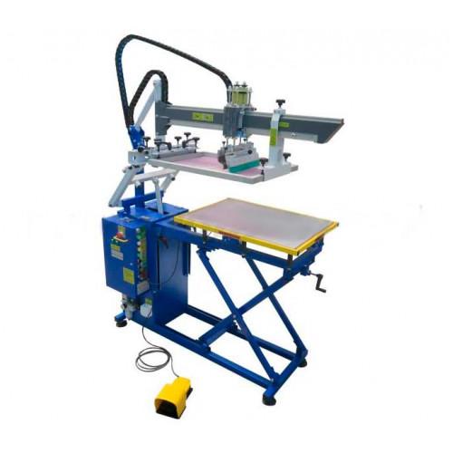 Полуавтоматический трафаретный станок для габаритных изделий Schulze НАН 5070