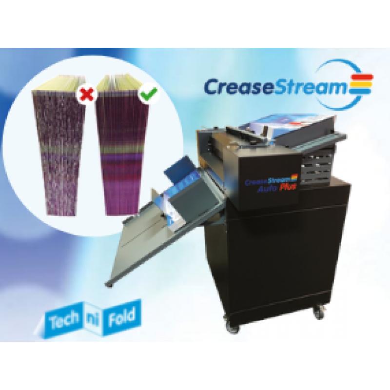 Tech-ni-Fold выпустила новое многофункциональное послепечатное устройство -  CreaseStream Auto Plus