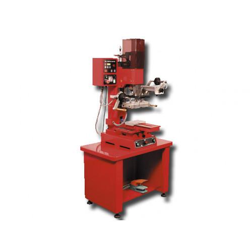 HSA 1218 - полуавтоматический пресс для тиснения фольгой с давлением 1600 кг