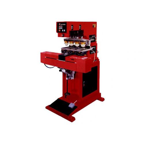 Полуавтоматические четырехкрасочные станки тампонной печати (1)