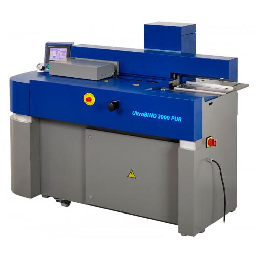 UltraBIND 2000 PUR - компактная машина клеевого бесшвейного скрепления закрытого типа